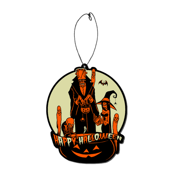 Toxictoons Happy Halloween Air Freshener