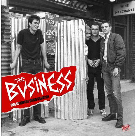 The Business - 1980-1981 Complete Studio Collection LP - DeadRockers