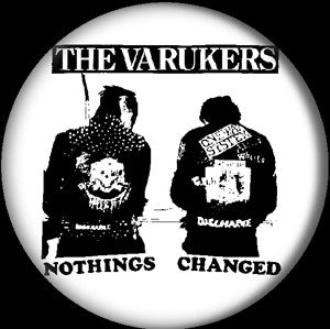 The Varukers 'Nothing' Pin