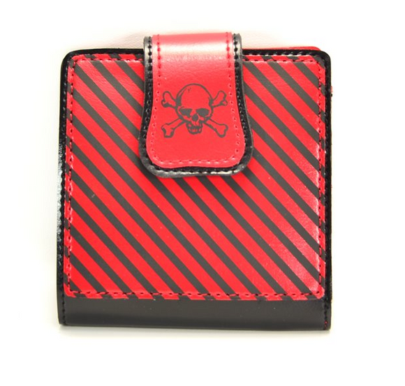 Wasteland Red Striped Wallet