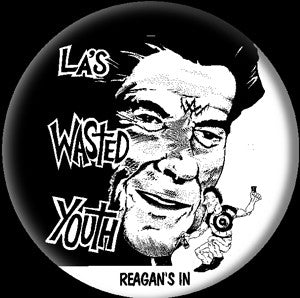 Wasted Youth Pin - DeadRockers
