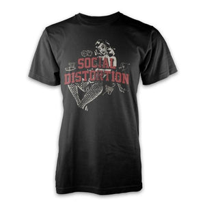 Social Distortion Pin Up Girl Shirt
