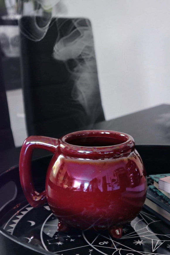 Wicca Cauldron Blood Aura Mug