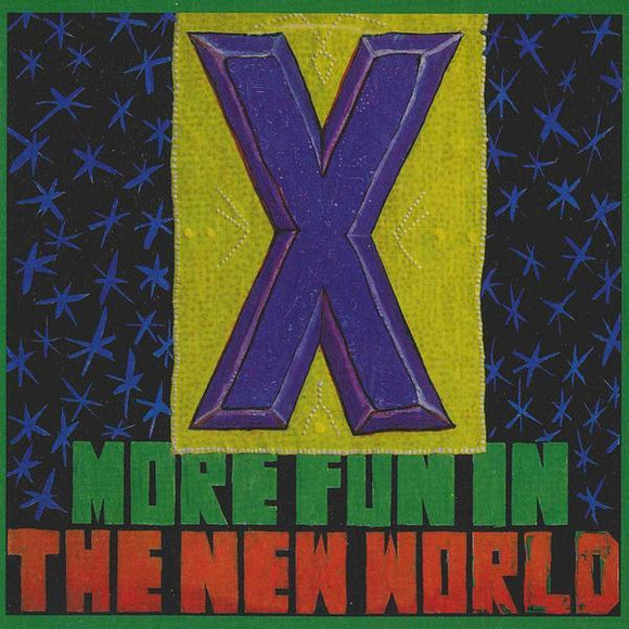 X - More Fun In The New World (Remastered) LP