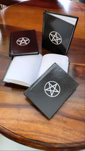 Load image into Gallery viewer, Pentagram Symbol Book - Spell Journal for Witchcraft - pentacle symbol Grimoire - Witchy small pocket size book - witch gifts - spell book