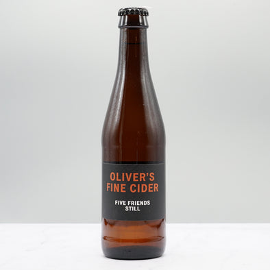 OLIVER'S FINE CIDER - FIVE FRIENDS 2018 & 2019 6.8%