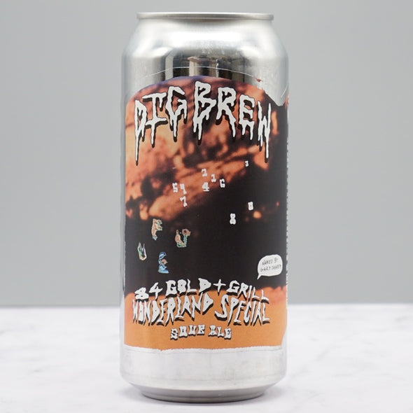 DIG BREW CO. - 84 GOLD + GRILL WONDERLAND SPECIAL 6.8%