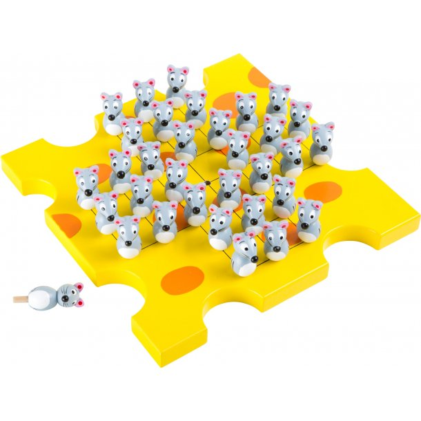 Small foot Solitaire Spil, Mus og Ost