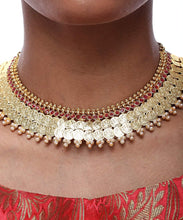Load image into Gallery viewer, Coin Choker and Studs Set