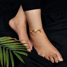 Load image into Gallery viewer, Gold Pearl Anklet