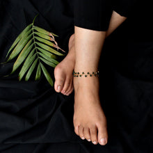 Load image into Gallery viewer, Green Beaded Anklet