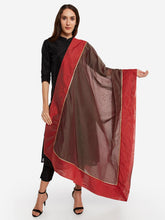 Load image into Gallery viewer, Grey Gota Patti Dupatta