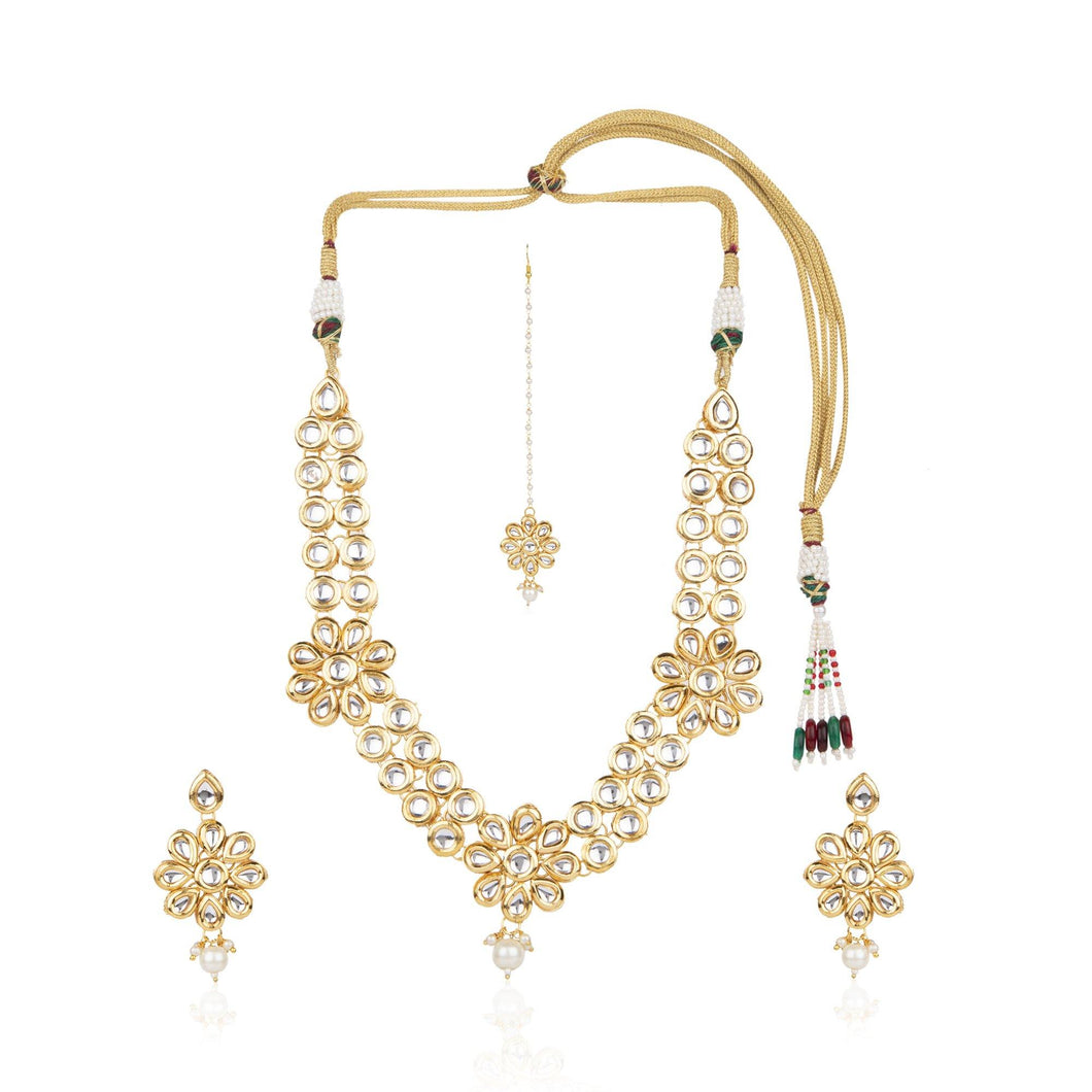 Kundan Studded Jewellery Set