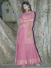 Load image into Gallery viewer, Lavender Kurta Skirt Set