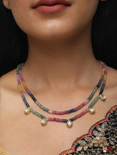 Load image into Gallery viewer, Multi Onyx Beads Neckpiece