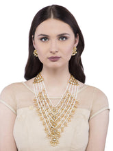 Load image into Gallery viewer, Multi Layered Pearl Necklace Set