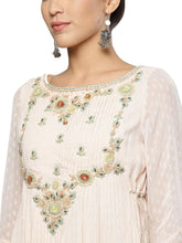Load image into Gallery viewer, Pink Embroidered Anarkali Kurta