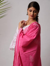Load image into Gallery viewer, Pink Hand Block Print Dupatta