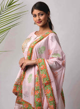 Load image into Gallery viewer, Pink Motif Print Dupatta