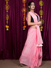 Load image into Gallery viewer, Pink Printed Saree