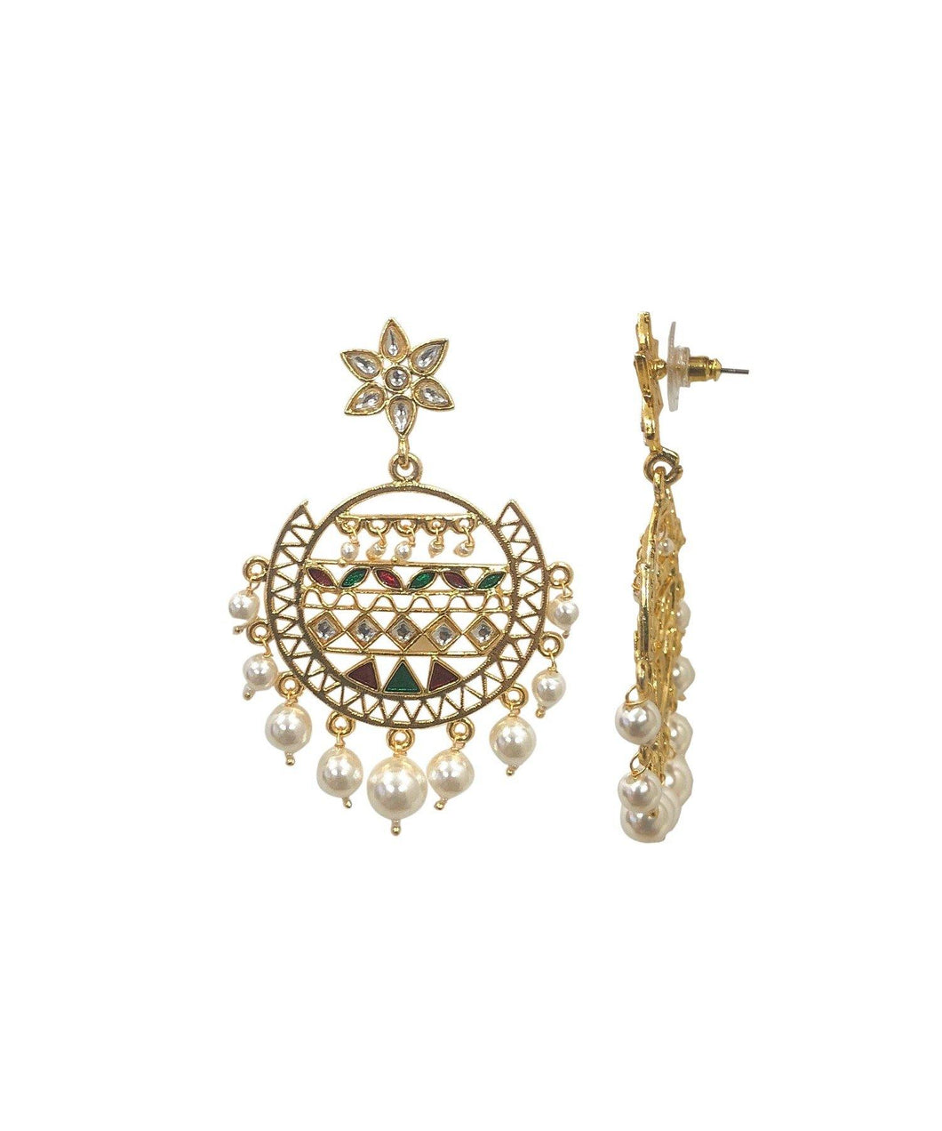 Sera Multi Pearl Earrings