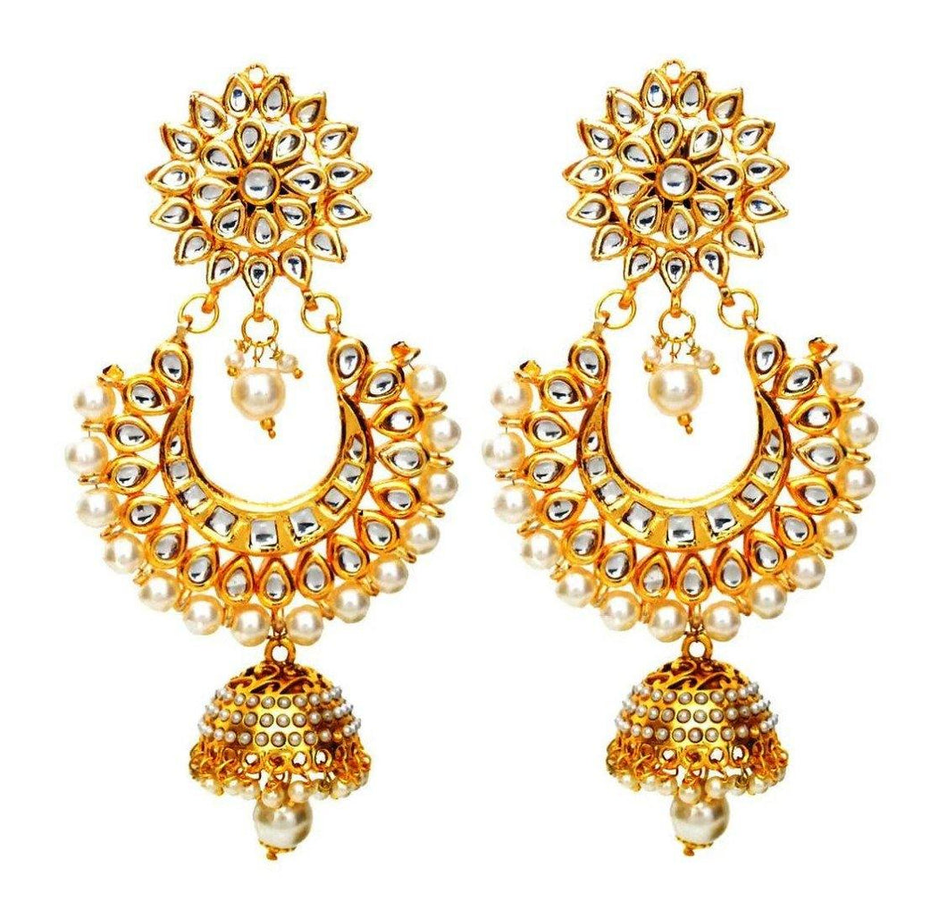 The Big Kundan Danglers