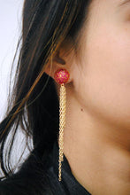Load image into Gallery viewer, The Golden Waterfall Earrings