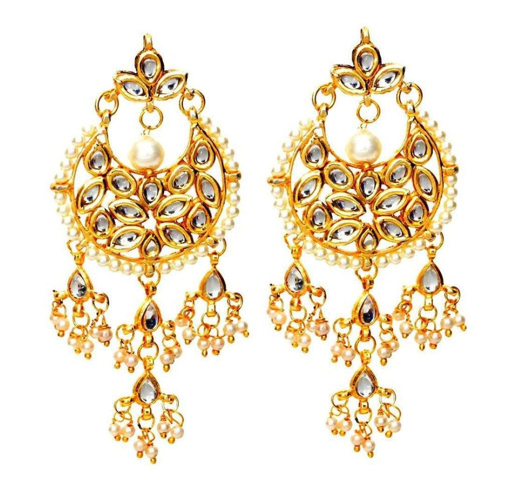 The Kundan Clove Hanging Danglers