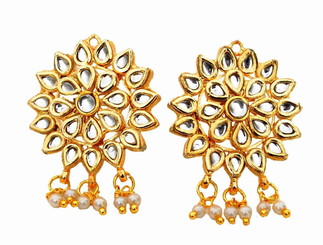 The Pretty Kundan Studs