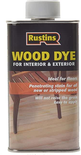 Rustins wood dye 250ml Dark oak