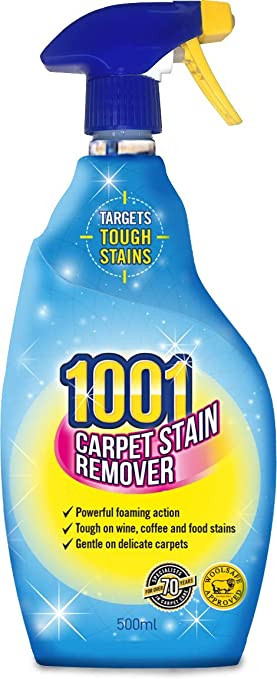 1001 trouble shooter Carpet stain remover