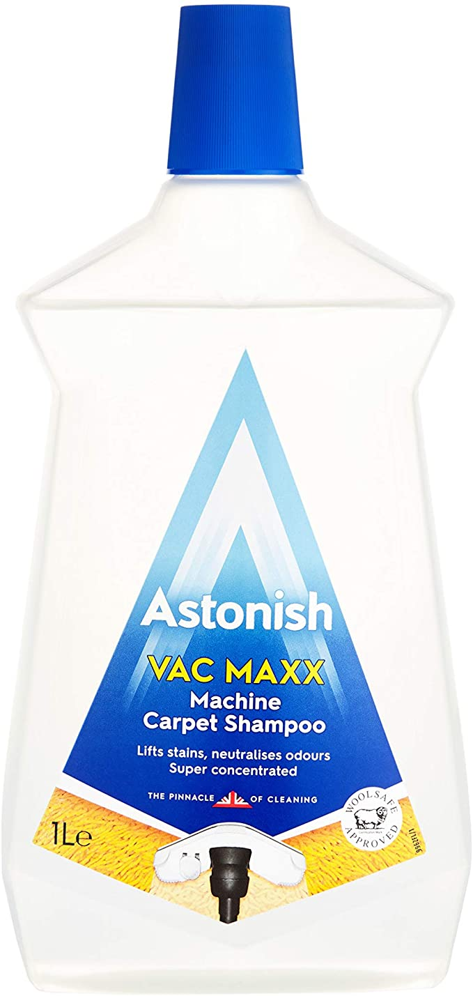 Astonish Vac Maxx carpet shampoo