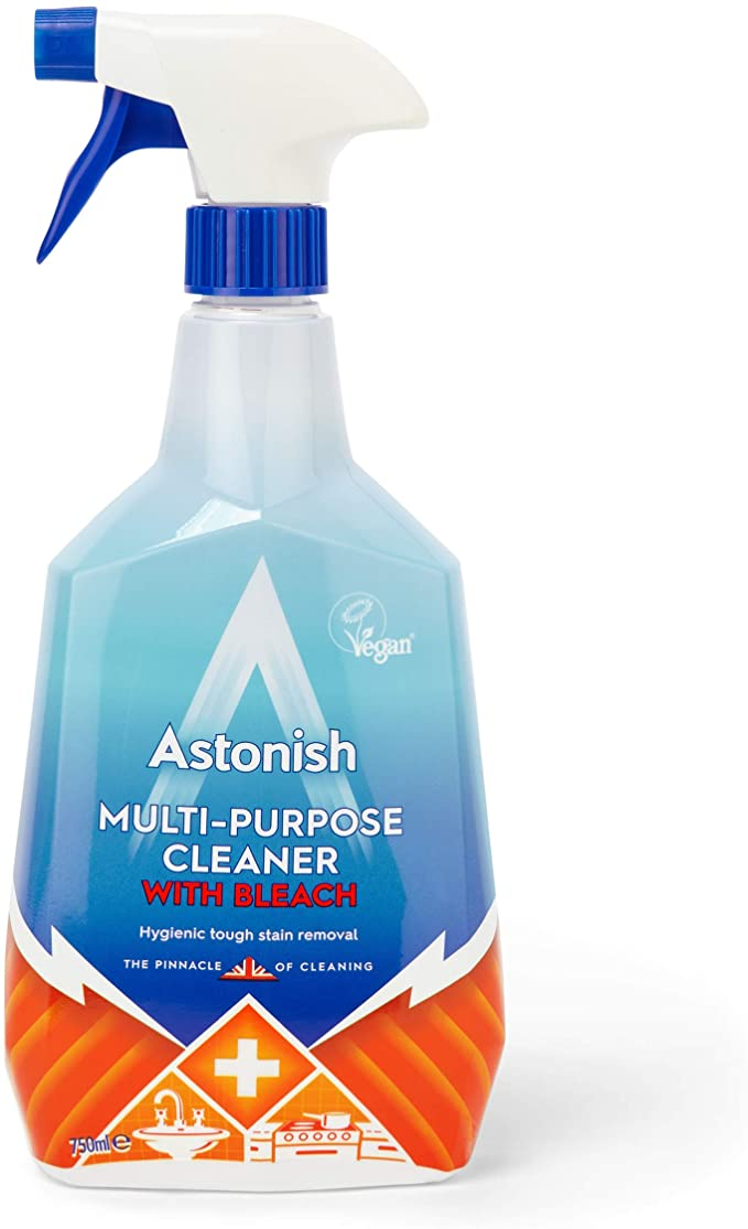 Astonish multi purpose with bleach spray