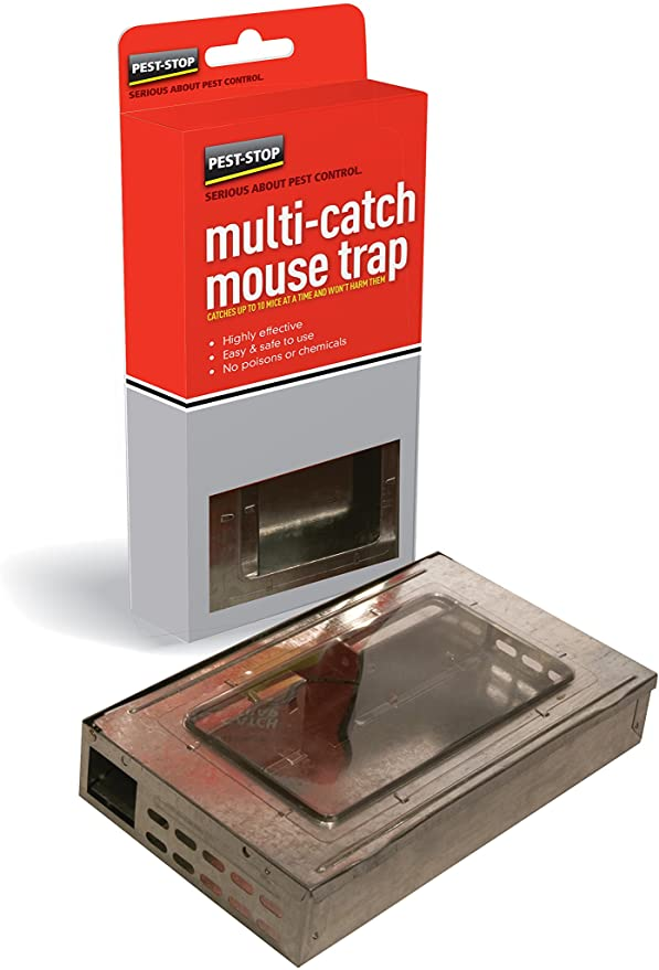 Humane multi-catch mouse trap humane