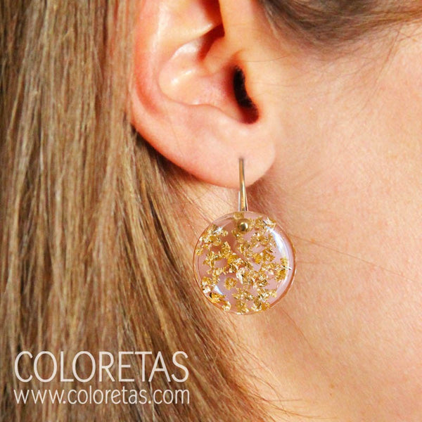 Sparks hook earrings
