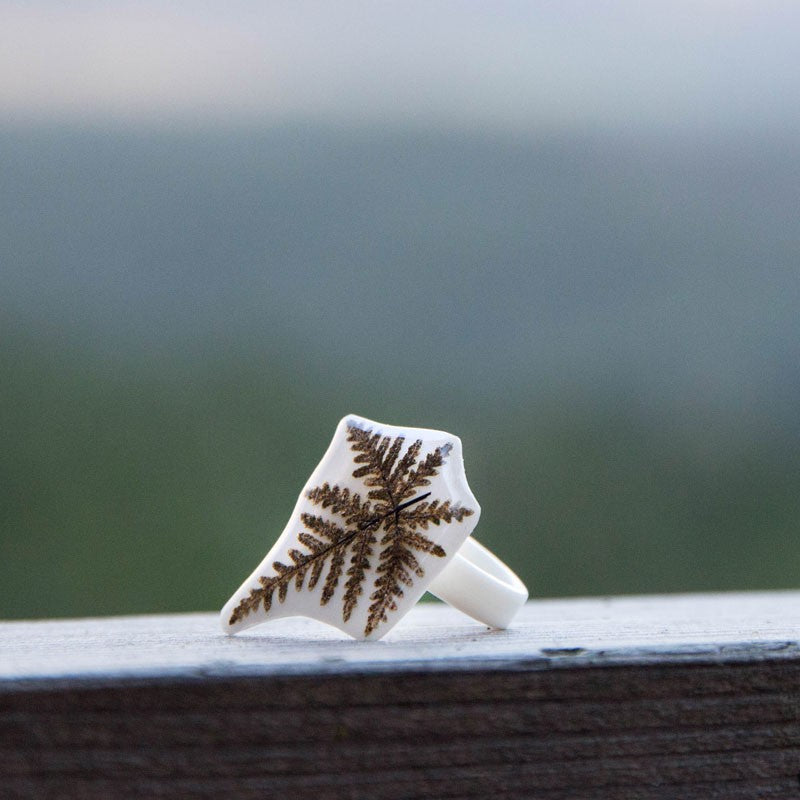 White Fern Ring