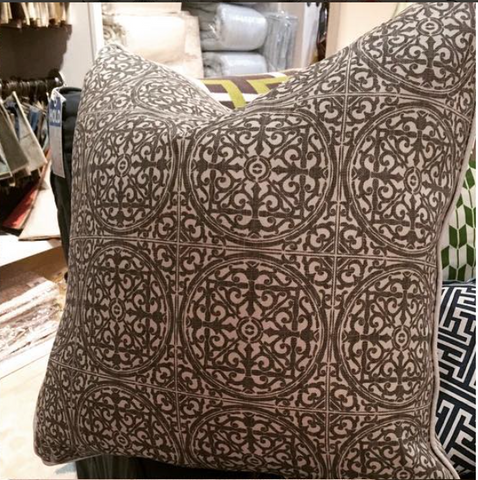 "Rosewindow 22"" Pillow"