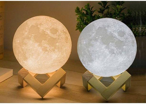 2 Colors Moon Lamps