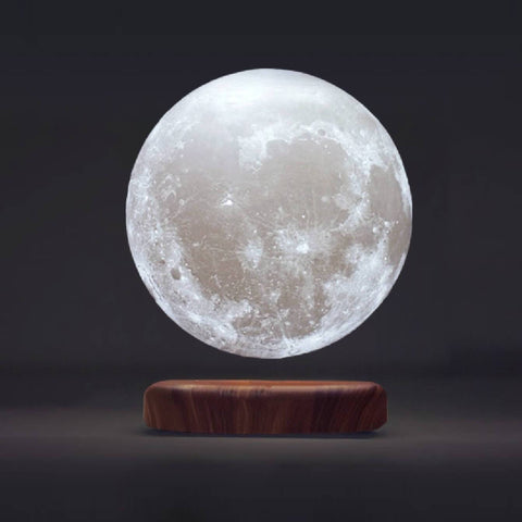 Levitating Moon Lamps