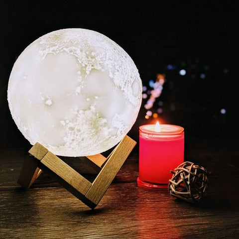 Date Night Moon Lamp