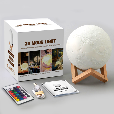 Moon Lamp Packaging