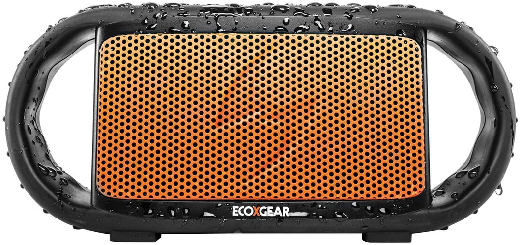 Ecoxgear EcoXBT IP67 Waterproof Bluetooth Speaker (Orange)