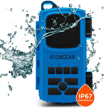 Load image into Gallery viewer, Ecoxgear EcoExtreme II IP67 Waterproof Bluetooth Speaker (Blue)