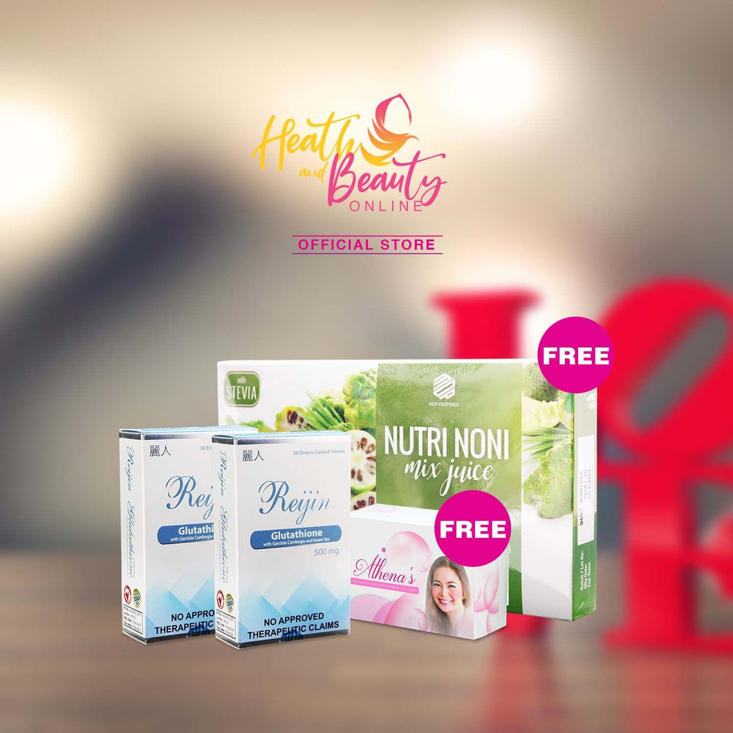 2 Boxes Reijin Glutathione get Free other Products