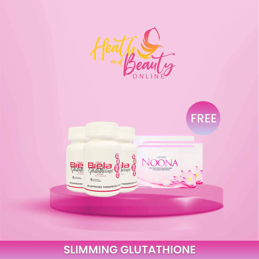 3 bottles Biela Glutathione get FREE other products