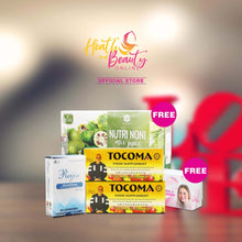Load image into Gallery viewer, 1 Box Reijin Glutathione 2 boxes Tocoma  get Free other Products