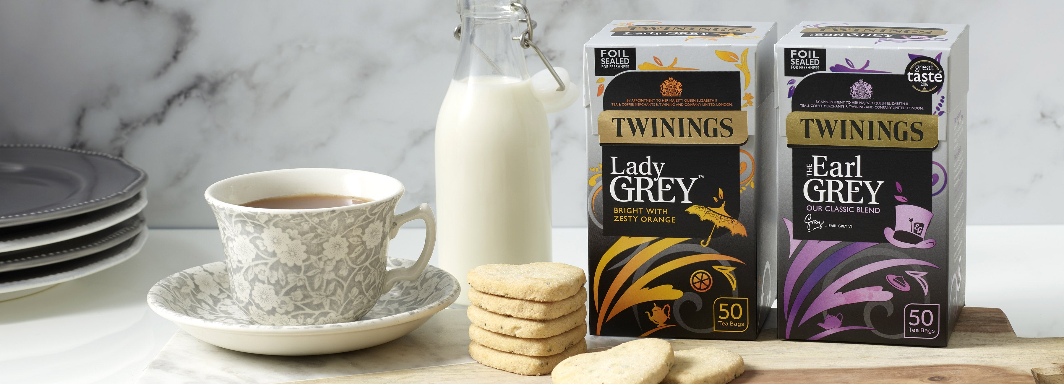 Earl Grey Flavours from Twinings - Discover our Range