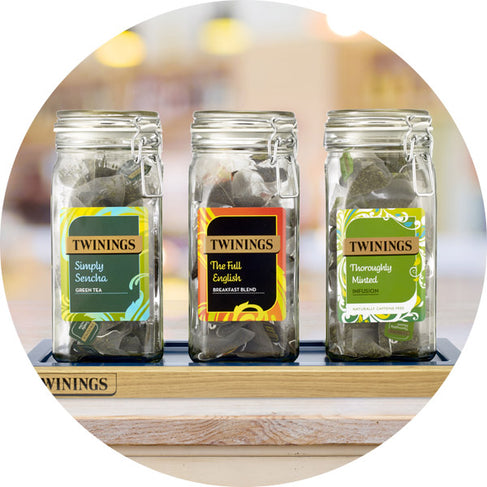Twinings Out of Home merchandise