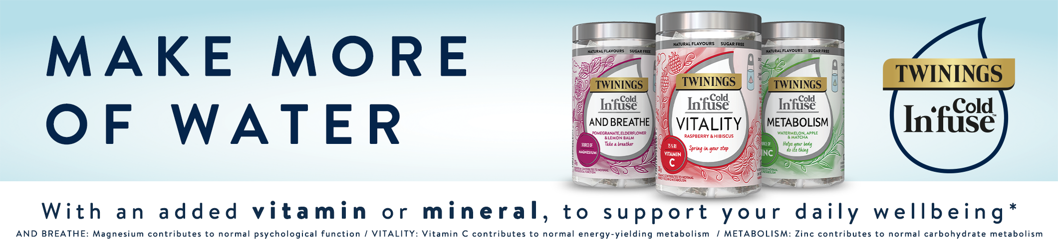 Twinings Cold Infuse - Make More of Water