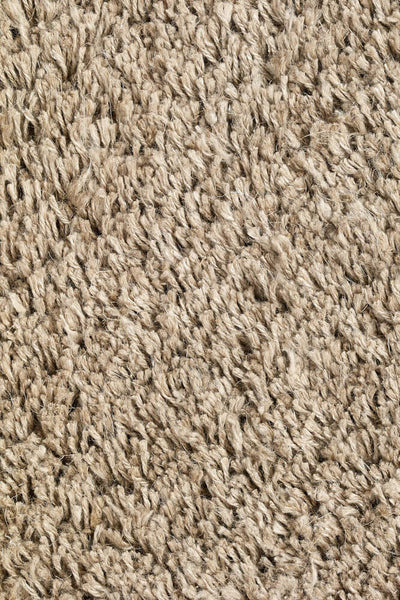 Tan Long Pile Linen Natural ROOTS LIVING Rug Roots Living